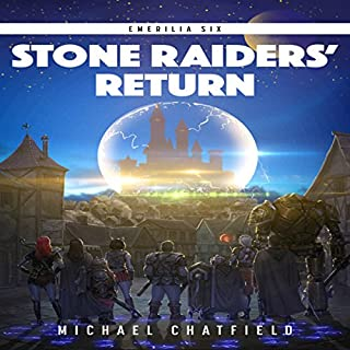 Stone Raiders' Return audiobook cover art