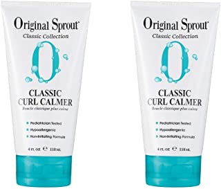 Original Sprout Classic Curl Calmer. Safe Hair Care. Curly Hair Moisturizer and Hair Strengthener. 4 Ounces. 2 Pack. (Pack...