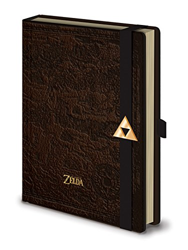 Pyramid International SR72123 The Legend Of Zelda (Hyrule Map) A5 Notizbuch Prämie Bleistifthalter und Logo