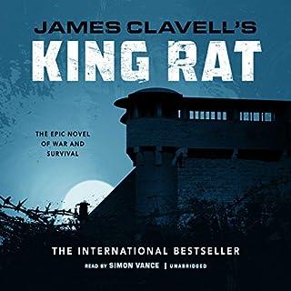 King Rat audiobook cover art