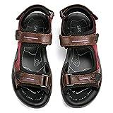 Sandales de Randonnée Femmes, gracosy Chaussures de Sports Été Plates en Cuir à...