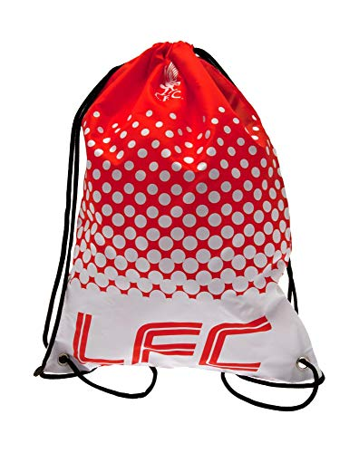 Official Liverpool Football Club Gym School Bag Red Crest Fan Gift Fade Design