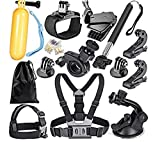 Fone Fashionz 12 in 1 Action Camera Accessory Kit Bundle Compatible for GoPro
