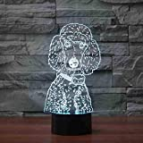 ★ Kreativer 3D-Vision-Effekt - 9 LED-Perlen in der ABS-Kunststoffbasis und der 4-mm-Acrylplatte sorgen für eine erstaunliche 3D-Effekt-Vision. 2D-Lampe sieht aus wie ein echtes 3D-Nachtlicht. Weiches Licht, tut den Augen nicht weh. ★ Einfach zu bedie...
