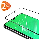 Bewahly Panzerglas Schutzfolie für Xiaomi Redmi Note 7 / Note 7 Pro [2 Stück], 9H Festigkeit Panzerglasfolie Ultra Dünn HD Bildschirmschutzfolie Full Screen Glas Folie für Redmi Note 7 / Note 7 Pro - Schwarz