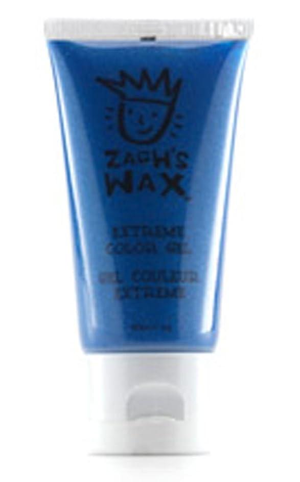Zach's Wax 0001 Blue temporary hair colo