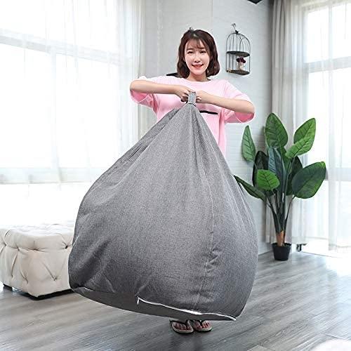 EPYFFJH - Poltrona a sacco per divano, per esterni e interni, per adulti, per giochi e giochi, per soggiorno, camera da letto, studio, rosso, XL (colore: giallo, taglia: XLarge)