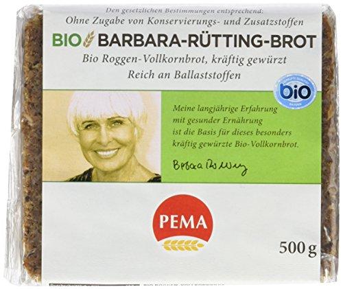 Pema Barbara Rütting Bio Brot, 6er Pack (6 x 500 g)