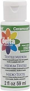 Delta Textile Medium Ceramcoat Pintura acrílica, 59 ml