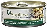 Applaws Douille de Thon Filet/Algue pour Chat 24 x 156 g