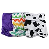 Hi Sprout Female Dog Diaper Reusable Washable Durable Absorbent Cloth Doggie Diapers Pants xs2