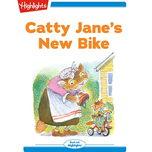Catty Jane's New Bike cover art