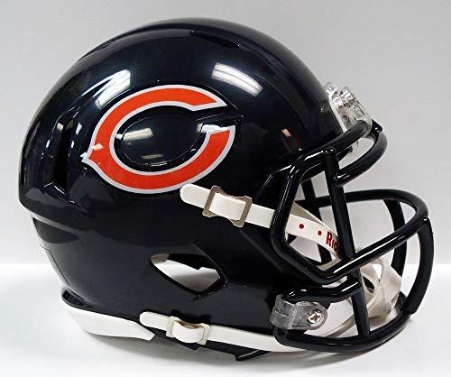 Riddell NFL Chicago Bears Speed Mini - Casco de fútbol Americano