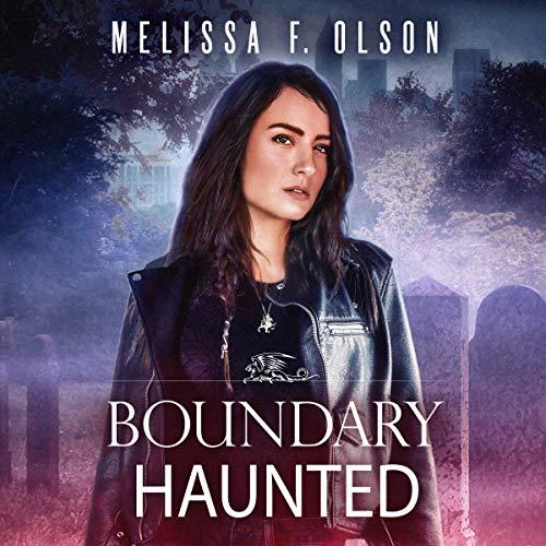 Page de couverture de Boundary Haunted