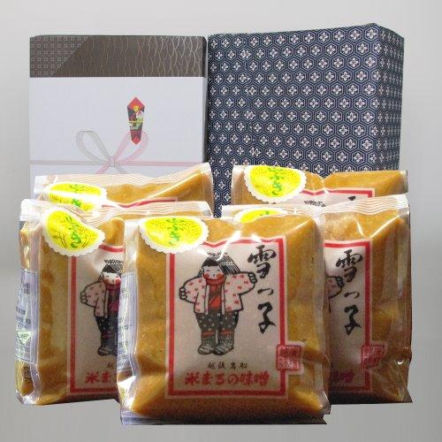 【お中元 贈り物】ギフト 雪っ子 山ぶき味噌