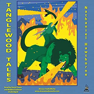 The Tanglewood Tales audiobook cover art