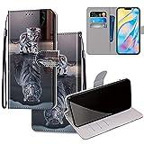 Gift_Source Zenfone 3 Deluxe 5.5' ZS550KL Funda, [Patrón 25] Fundas de Cuero PU Carcasa Cartera Cover Billetera con Ranura para Tarjeta, Soporte Plegable para ASUS ZenFone 3 Deluxe 5.5' ZS550KL