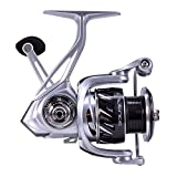 Cadence Spinning Reel,CS6 Strong Aluminum Frame Fishing Reel with 8 Durable & Corrosion Resistant Bearings for Saltwater or Freshwater, Super Smooth Powerful Reel with 29LBs Max Drag 6.2:1 Spin Reel