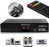 hd-line Echosat 20500 S Digitaler Satelliten HD Receiver (HDTV, DVB-S /DVB-S2, HDMI, AV, 2X USB 2.0, Full HD 1080p, Digital Audio Out) [Vorprogrammiert für Astra, Hotbird und Türksat]