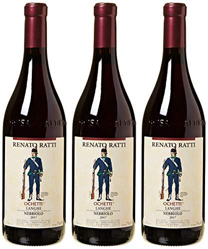 """Renato Ratti - Nebbiolo D'Alba """"Ochetti"""" - 3 Bottiglie da 0,75 lt."""