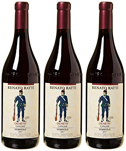 Renato Ratti - Nebbiolo D'Alba 'Ochetti' - 3 Bottiglie da 0,75 lt.