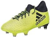 adidas X 17.3 SG, Chaussures de Football Compétition Mixte Enfant, Jaune (Solar Yellow/Legend Ink/Legend Ink), 38 2/3 EU