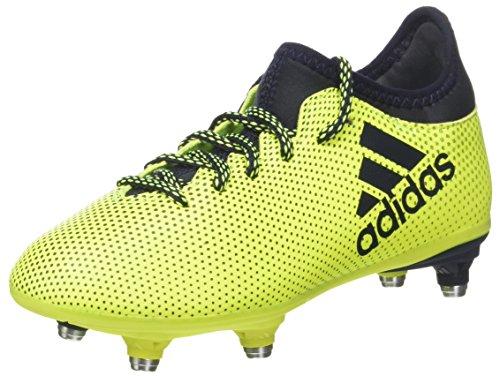 adidas X 73 SG J, Scarpe da Calcio Unisex-Bambini, Giallo (Solar Yellow Legend Ink), 35.5 EU