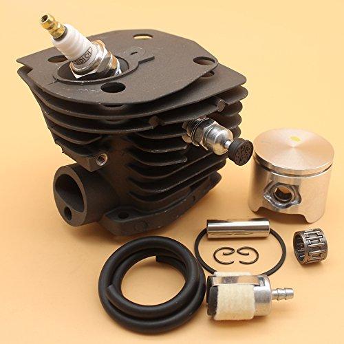 44mm Nikasil Cilinder Zuiger Decompressie Klep Brandstof Lijn Kit Voor HUSQVARNA 346XP 350 351 353 Kettingzaag Lage Versie #503 86 99-7