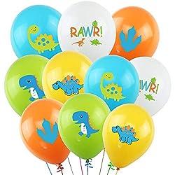 5. K Kumeed Dinosaur Latex Party Balloons (50 Pack)