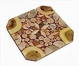 SPL Woodcraft Ukraine - Sottopentola in legno per piatti caldi, mosaico fatto a mano, 6 tipi di legno, odore naturale, decorazione unica in cucina, prodotto da SPL Woodcraft Ukraine