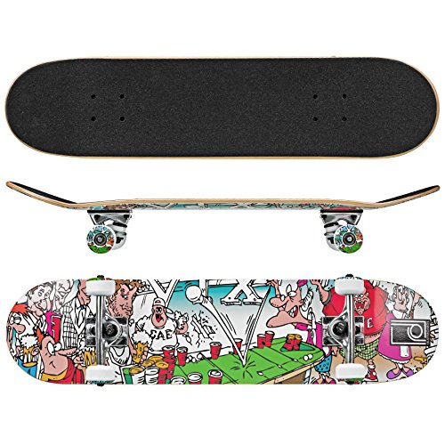 Roller Derby Street Series Skateboard (Frat House), 31 x 8 Pulgadas