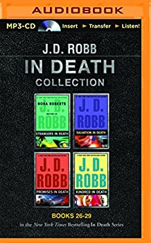 J. D. Robb In Death Collection Books 26-29: Strangers in Death, Salvation in Death, Promises in Death, Kindred in Death - Book  of the In Death