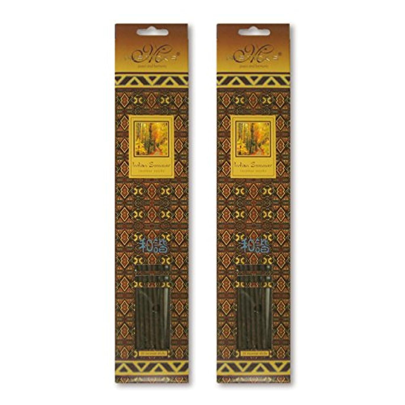 記念碑的な郵便局第四MISTICKS ミスティックス Indian Summer インディアンサマー お香 20本 X 2パック (40本)