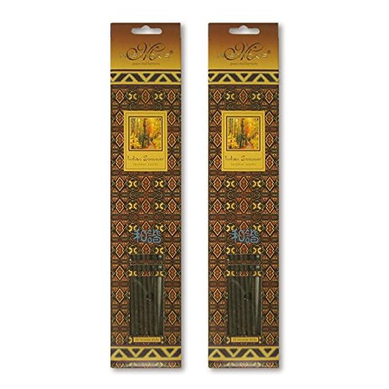 難しい理論的数学的なMISTICKS ミスティックス Indian Summer インディアンサマー お香 20本 X 2パック (40本)