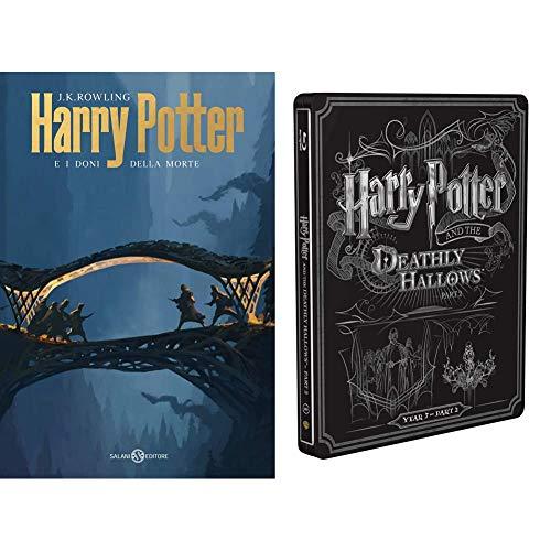 Harry Potter E I Doni Della Morte - Parte 02 (Steelbook + Libro)