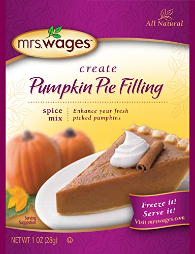 Mrs. Wages Pumpkin Pie Filling Spice Mix (VALUE PACK of 12) -  Precision Foods