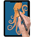 Stylus Pen Compatible with iPad, Drawing Stylist Smart Pencil Compatible with iPad 2/3/4/5/6/7/8 Generation Air 1/2/3/4 Pro 9.7/10.5/11/12.9 and Mini 1/2/3/4/5 (Black)