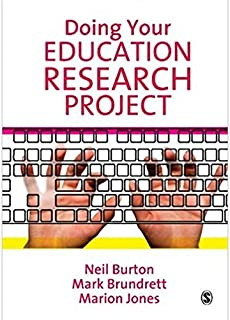 Doing Your Education Research Project by Neil Burton and Mark Brundrett - Paperback