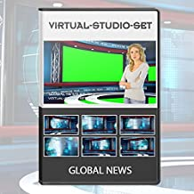 Global News HD Realistic Virtual Set for Green Screen Video Productions