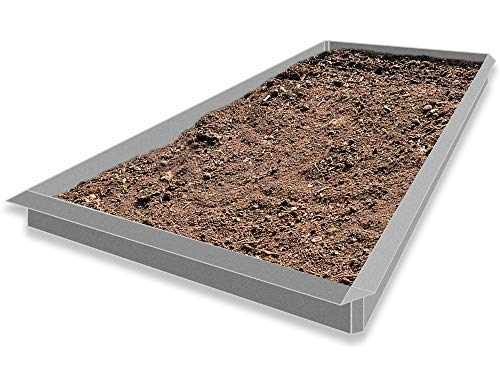 Lust Ideen aus Blech Typ 02 VDH Galvalume® Alu Zink 24er Set 20 x 1,0 m + 4 x Eckverbindung 90° Weitere Auswahlmöglichkeiten