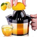 Citrus Juicer, Sunhanny Orange Lemon Manual Hand Squeezer, Anti-Slip Lid Rotation Reamer Lime Press,...