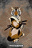 Notebook: Tiger Ronin , Journal for Writing, College Ruled Size 6' x 9', 110 Pages