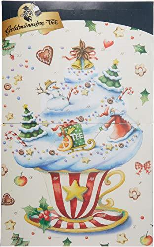 Goldmännchen Tee Buch_Adventskalender, 1er Pack (1 x 50.15 g)