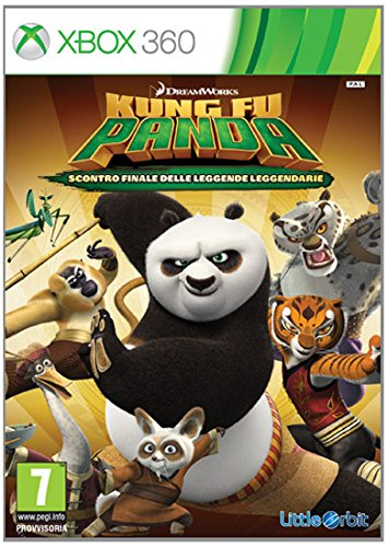 BANDAI NAMCO Entertainment Kung Fu Panda: Showdown of Legendary Legends, X360 vídeo - Juego (X360, Xbox 360, Modo multijugador)