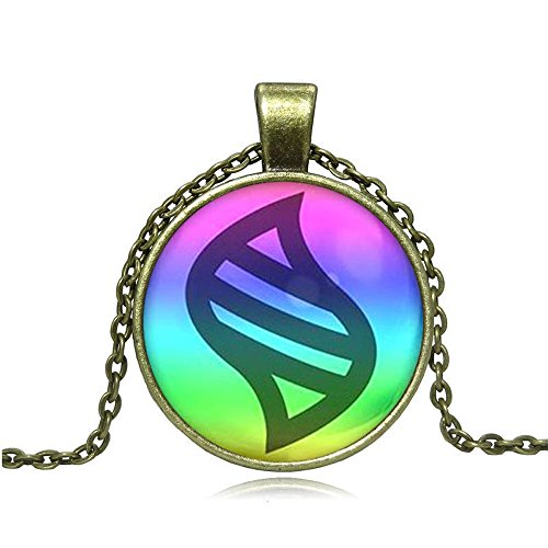 Cosplay Game Ball Mega Stone chain Necklace Game Fashion Charm Glass Cabochon Round Toy Pendant