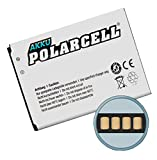 PolarCell Batterie de Sony Ericsson XPERIA E1/J/L/M/TX (BA900) 1850mAh/6,8wh