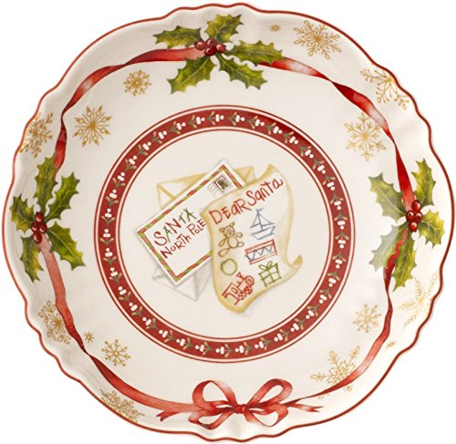Villeroy & Boch 1483323695 Toy's Petite Coupelle Toy's Fantasy Motif Liste Arts de la Table de Noël Porcelaine Multicolore 17,2 x 4 x 17,2 cm