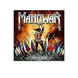Manowar Heavy Metal Band Cover Leinwand Kunst Studio Poster