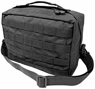 Molle Utility SHOULDER BAG Multi-Purpose-ACU, OD GREEN, BLACK, TAN (BLACK)