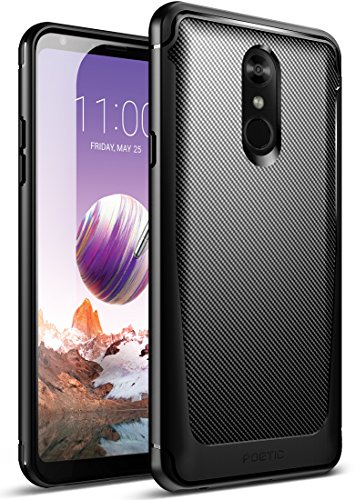 LG Stylo 4 Case, LG Stylo 4 Plus Case, Poetic Karbon Shield [Shock...